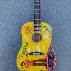 RGM144-George-Harrison-yellow-Acoustic