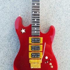 RGM679 Richie Sambora Red Jersey Star pic 2