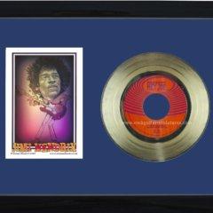 Jimi Hendrix Hey Joe dark blue+