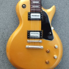 RGM685 Joe Bonamassa Studio Gold Top pic 2