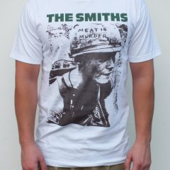 RGM858 Meat is Murder THE SMITHS T-shirt