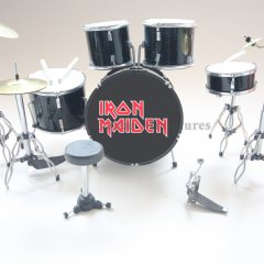 RGM385 Nicko McBrain Iron Maiden